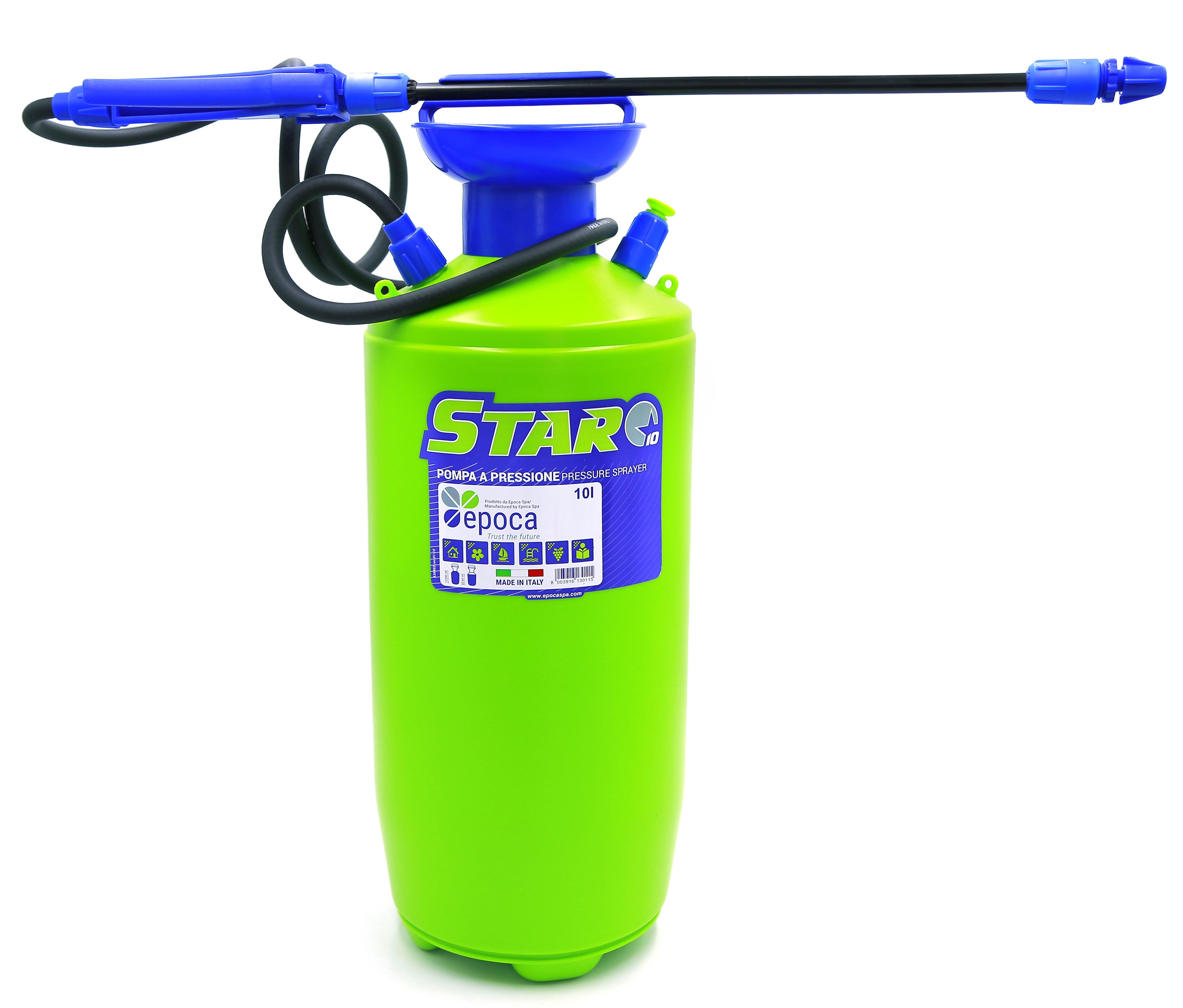 Italy Pressure Sprayer Star 10 Ltr (Epoca)