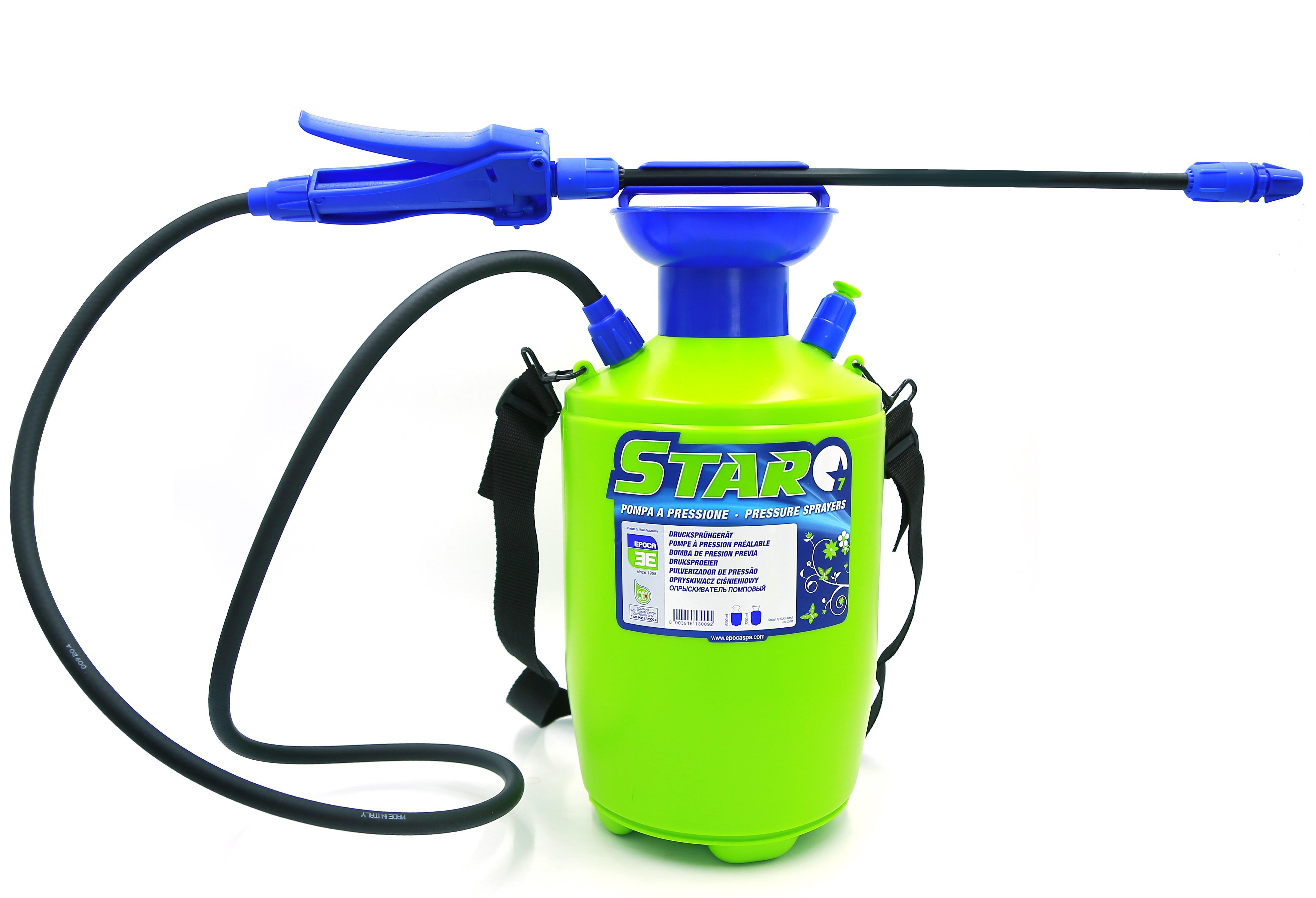Italy Pressure Sprayer Star 7 Ltr (Epoca)