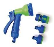 4 PC 8 Pattern Spray Gun Set