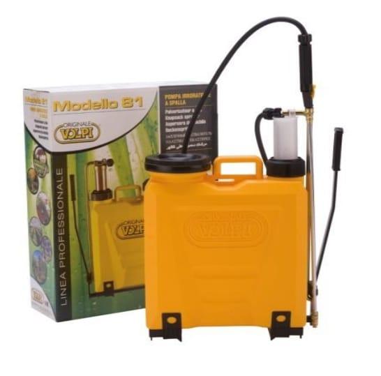 Italy Knapsack sprayer UNI with plastic pump 12 Ltr (Volpi)