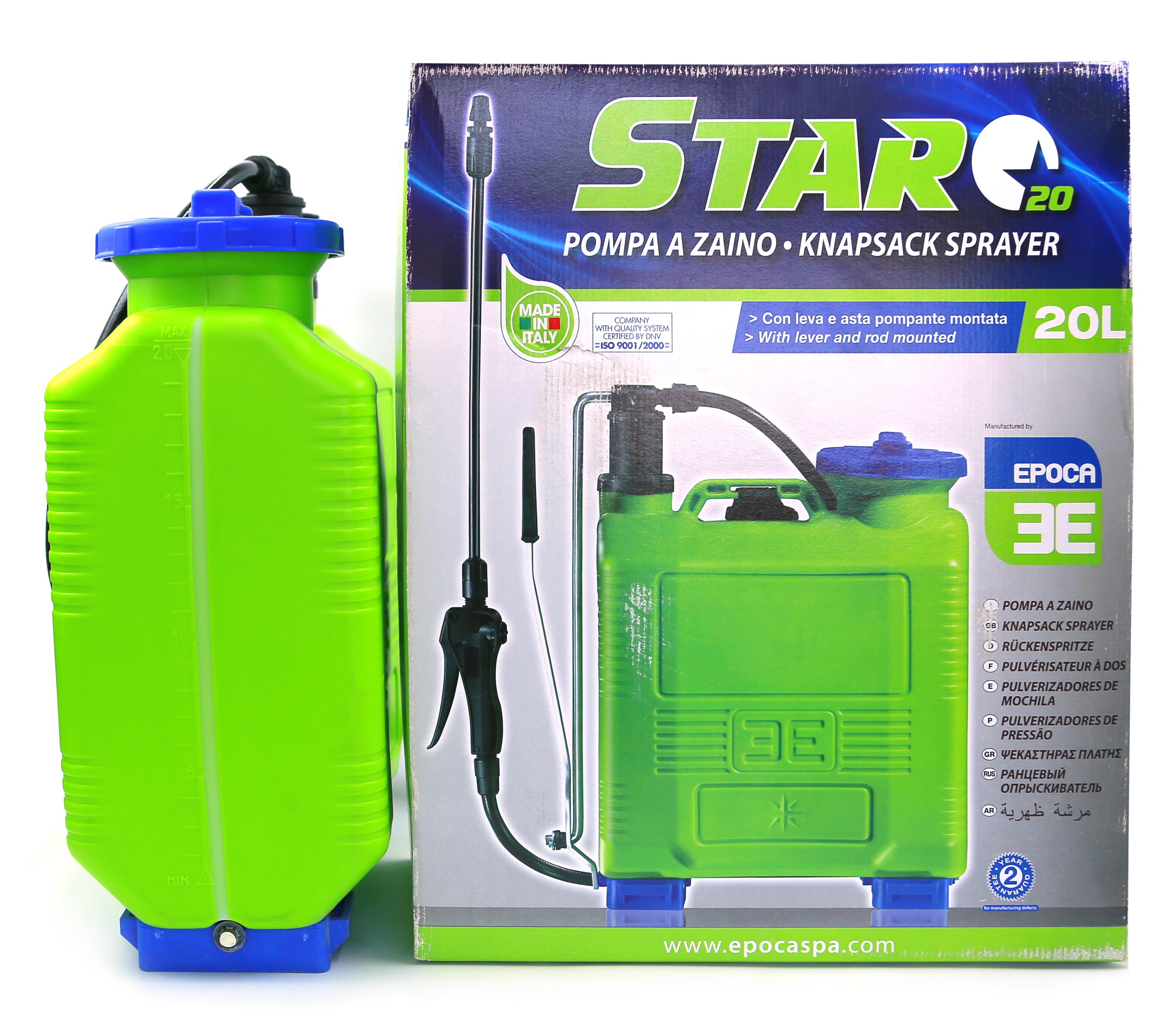 Italy Knapsack sprayers Star 20 Ltr (Epoca)