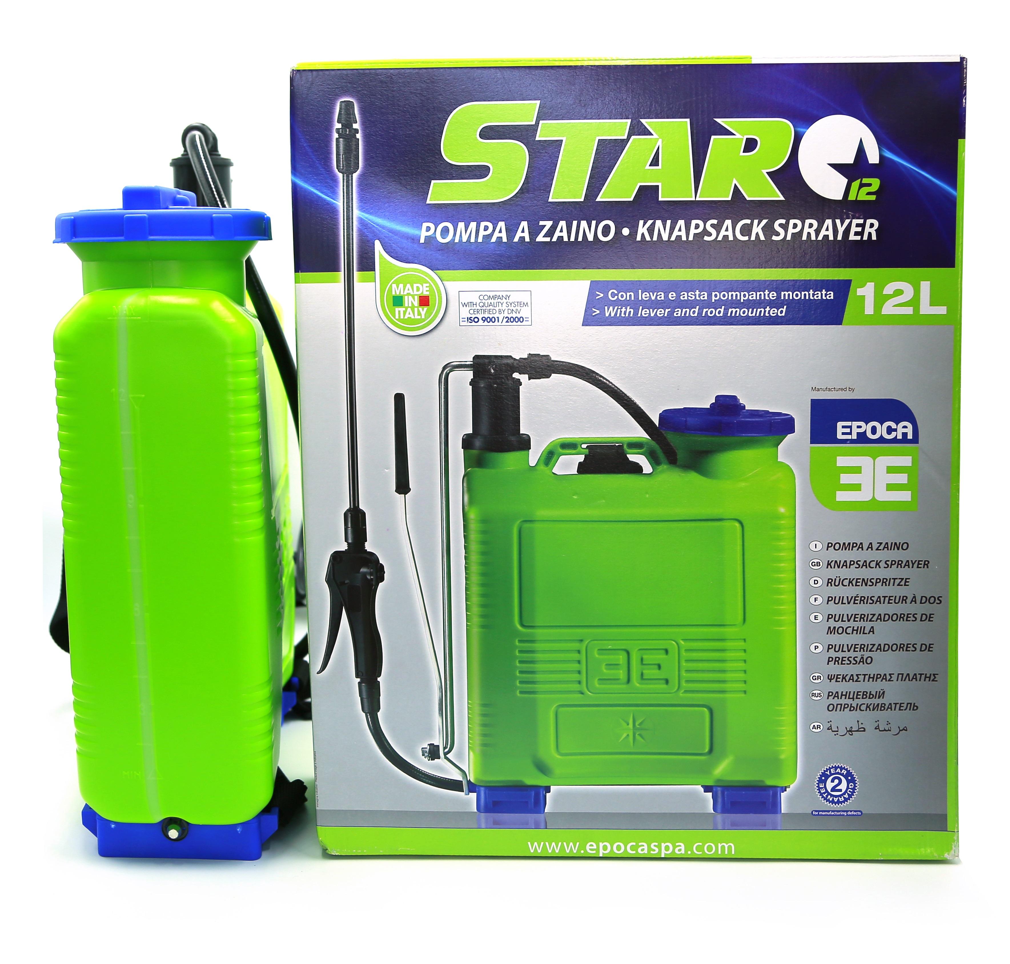 Italy Knapsack sprayers Star 12 Ltr (Epoca)